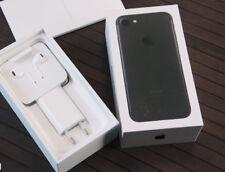APPLE IPHONE 7 128GB Libre Negro - Con la Caja y Todos los Accesorios Como Nuevo
