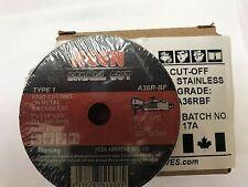 """Box of 50- High Speed Cut Off Wheels 3"""" x 1/16"""" x 3/8"""" KEEN Abrasives 13032"""