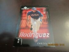New listing 2002 UPPER DECK MVP ALEX RODRIGUEZ INSERT BASEBALL CARD #'D 025/100 RANGERS