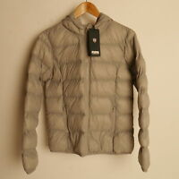 Genuine Puffa Jacket Womens Grey  Hooded  Size 18 Brand New £25.00 rrp £55