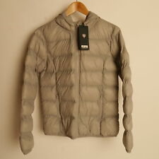 Genuine Puffa  Branded Jacket Womens Grey Hooded Size 18 New £22