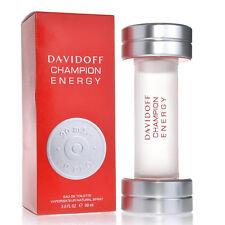 DAVIDOFF CHAMPION ENERGY 90 ml EDT EAU DE TOILETTE SPRAY