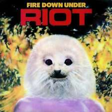 Riot - Fire Down Under NEW CD