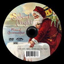 Antique Silent Christmas Films 1898-1925 Victorian Christmas Santa Claus Scrooge