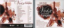 LES PLUS GRANDES VOIX DE LA CHANSON FRANCAISE - 16 SUCCES (2015) CD BRAND NEW