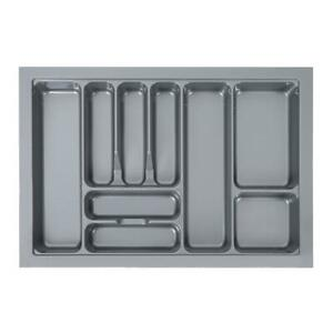 Kitche Cutlery Tray Holder 9 Compartments Insert Drawer Cutlery Organiser 800mm