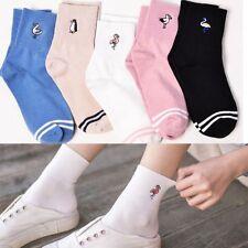 Hot Sale Cute Soft Cartoon 1 Pair Animal  Pattern Cotton Women Girl Sock