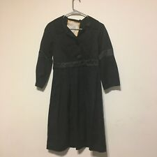 Baby Phat womens coat size S black 3/4 sleeve knee length