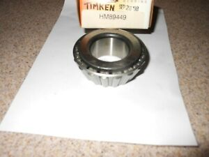 TIMKEN HM89449 TAPERED ROLLER BEARING~~ MADE IN USA~FREE SHIPPING~~HIGH QUALITY