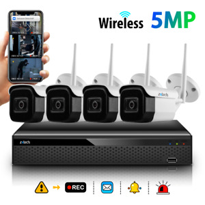 Zxtech Wireless WIFI Night Vision IP67 Waterproof Security Camera Home System