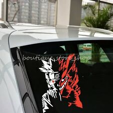 Cool Fox Naruto anime Cartoon Random Body Rear Window Car Stickers wall Decals