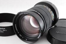 [NearMint] Mamiya N 150mm f/4.5 L Lens w/ Hood For Mamiya7 7II  (280-G466)