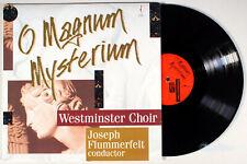 Westminster Choir - O Magnum Mysterium (1993) 180g Vinyl LP • Joesph Flummerfelt