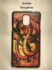 Samsung Galaxy Note 4 IV Anime Phone case DBZ Dragon Ball Z shenron
