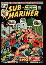 SUB MARINER 59(8.0)(VF)1ST THOR VS MARINER COVER-MARVEL(b015)