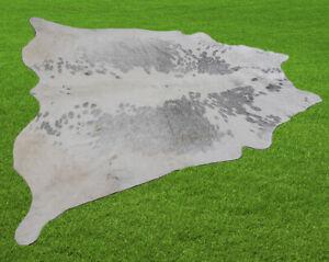 "New Cowhide Rugs Area Cow Skin Leather 25.83 sq.feet (60""x62"") Cow hide U-3844"