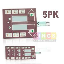 5PK  Computer Keypad for 9801-063-001  Dexter/Continental Dryer Free Shipping