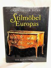 Nachschlagewerk - Stilmöbel Europas - Ein Sammlerbuch - mit Preisangaben - TOP