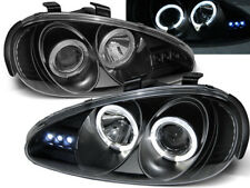 RINGS HEADLIGHTS LPMA02 MAZDA MX-3 MX3 COUPE 1991 1992 1993 1994 1995 1996-1998