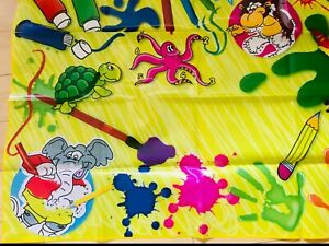 WATERPROOF Messy Mat Art Children Kids Craft Play Paint Area Table Cover
