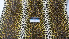 Vintage Arctic Cat Seat Vinyl Yellow Leopard Panther,Puma,King Kat,