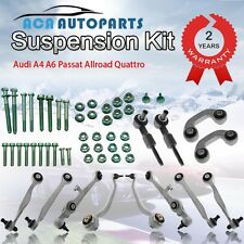 FOR AUDI A4 A6 VW PASSAT COMPLETE SET FRONT SUSPENSION CONTROL ARMS KIT