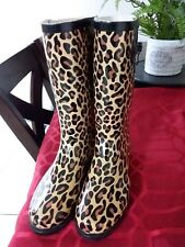 womens rubber rain boots size 8