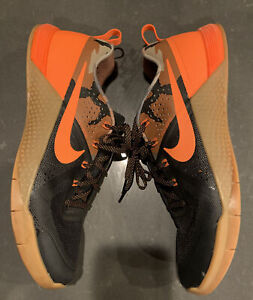 Nike Mens Metcon 1 725183 082 Black Orange Camo Running Shoes Lace Up Size 11.5