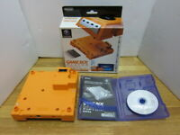 Nintendo GameBoy Player Orange For Nintendo Gamecube & Game Boy Startup Disk