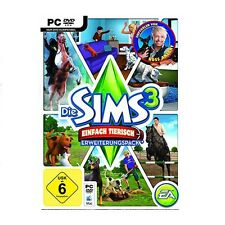 Die Sims 3 Einfach Tierisch/Pets Erweiterung Neu Origin CD key EU/DE Version