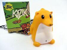 "Yellow w/white belly - Heathrow The Hedgehog by Kozik - 3"" vinyl figure"