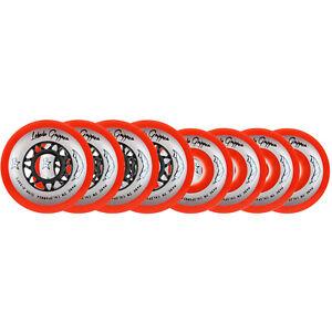 Labeda Gripper HILO Red Roller Hockey Inline Wheels 76mm 80mm X-SOFT 76A