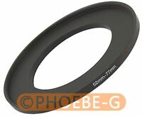 52mm to 77mm 52-77mm Step Up Filter Ring  Adapter