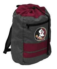 NWT Florida State Seminoles LogoBrands NCAA Journey Backsack Maroon with Gray