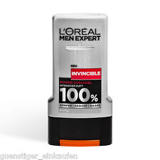 (13,17€/L) 300ml Loreal Men Expert Invincible Power Duschgel 100% Männer Duft