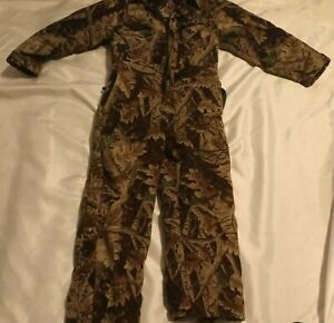 Northeast Outfitters Youth Size L Large Hunting Wear Insulated Camo Coveralls