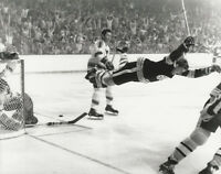 NHL Hockey Boston Bruins Bobby Orr Famous Goal Victory Final Photo Picture