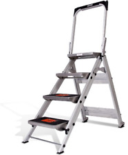 Little Giant Ladder Systems 10410ba Safety Step Ladder Four Step With Bar 2 X