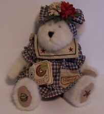 Glory Steadsbeary Longaberger Homestead Boyds Bear Jointed Retired Plaid Stars