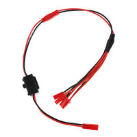 5 in 1 JST Splitter Wire RC Lipo Connector 2 Pin Male Female w ON/OFF Switch