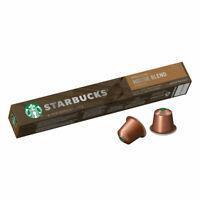 Starbucks Caffè Verona by NESPRESSO Dark Roast Coffee Capsules Tube of 10 55g