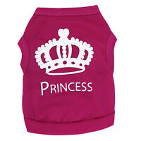 Winter Warm Pattern Dog Clothes Pet Clothing Pink S E1S5