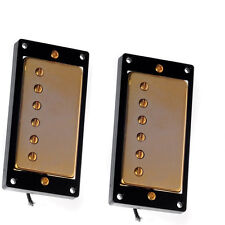 1 Belcat Guitar Humbucker Neck Bridge Pickups Set For Les Paul Parts Gold