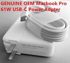 Genuine 61W USB-C Power Adapter MacBook Pro MNF72LL/A...