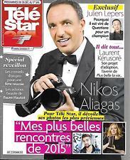 TELE STAR N°2047 26 DECEMBRE 2015 ALIAGAS/ LEPERS/ KERUSORE/ GOSLING/ REVEILLON