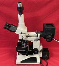 Nikon Optiphot Microscope Dic Fluorescence Phase Contrast 10x 20x 40x 100x