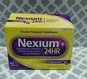 NEXIUM 24HR - 20 MG TREATS FREQUENT HEARTBURN 42 CAPS, Exp:9/23+, #0421