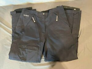 The North Face HyVent Black Waterproof Breathable Ski/Snowboard Pants Women's L