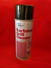 Fuller Brush Company Barbecue BBQ Grill Cleaner foaming action New