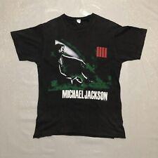 Vintage Official Michael Jackson Bad Tour T Shirt / Size Large /
